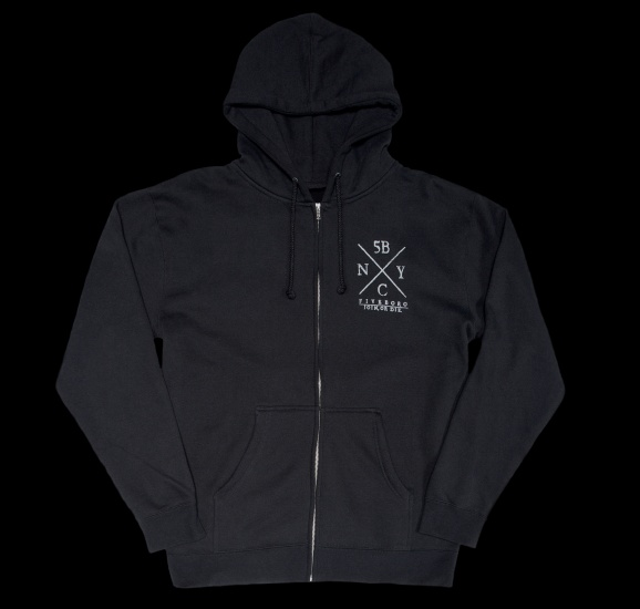 JOIN OR DIE ZIP-UP FRONT